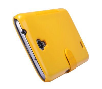Кожаный чехол (книжка) Nillkin Fresh Series для Samsung i9200 Galaxy Mega 6.3 черный 2635