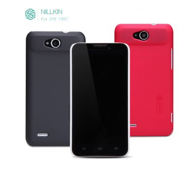Nillkin Super Frosted shield для ZTE V987 Черный 2109
