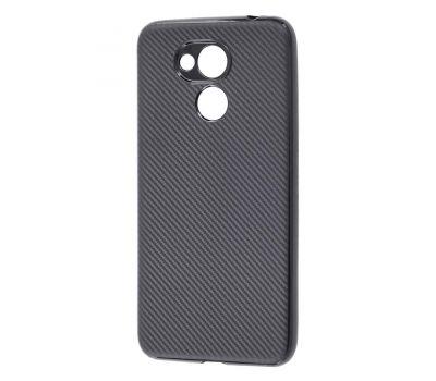Чехол для Huawei Honor 6С Pro Carbon Protection черный