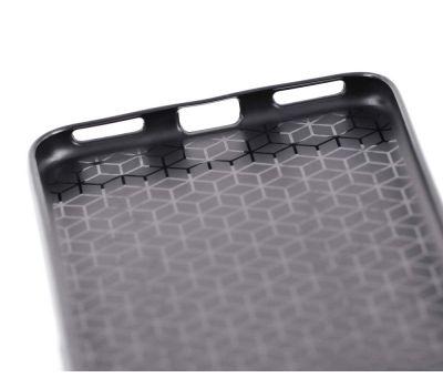 Чехол для Huawei Honor 6С Pro Carbon Protection черный 2431130