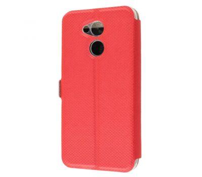 Чехол книжка для Huawei Honor 6С Pro Modern Style с двумя окнами красный 2433501