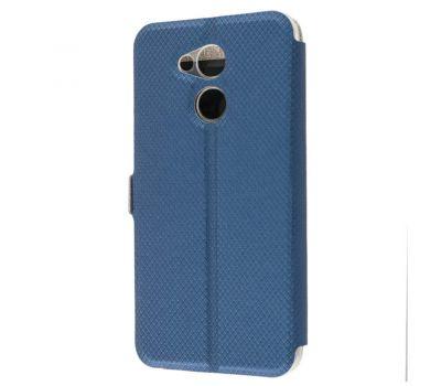 Чехол книжка для Huawei Honor 6С Pro Modern Style с двумя окнами синий 2433504