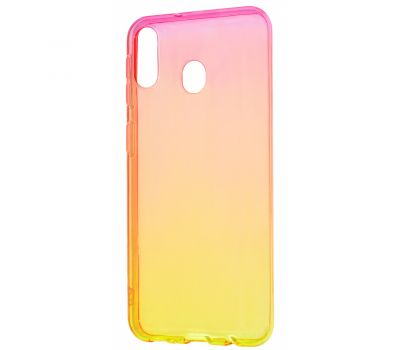 Чехол для Samsung Galaxy M20 (M205) Gradient Design красно-желтый 302486