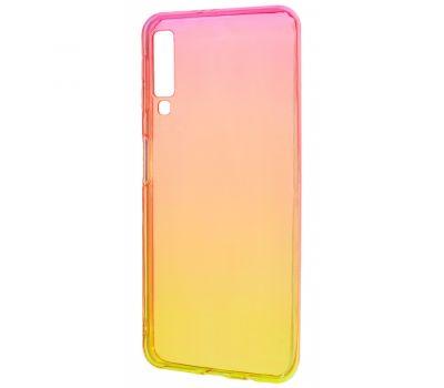 Чехол для Samsung Galaxy A50 / A50s / A30s Gradient Design красно-желтый 302409