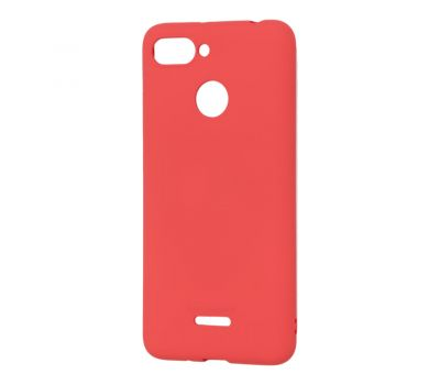 Чехол Molan Cano для Xiaomi Redmi 6 матовый красный 316100