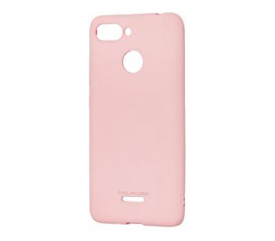 Чехол Molan Cano для Xiaomi Redmi 6 матовый розовый 316103