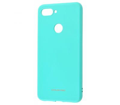 Чехол для Xiaomi Mi 8 Lite Molan Cano глянец бирюзовый 340229