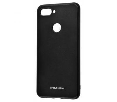 Чехол для Xiaomi Mi 8 Lite Molan Cano глянец черный 340233