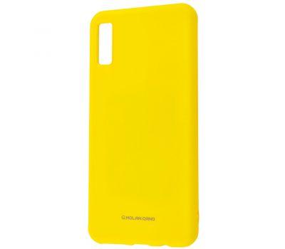 Чехол для Huawei P30 Molan Cano Jelly глянец желтый 363720