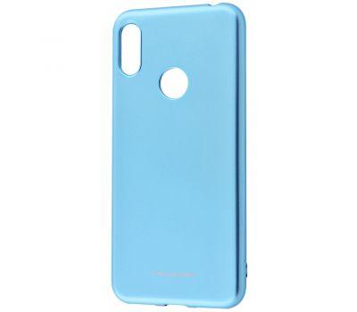Чехол для Huawei Y6 2019 Molan Cano Jelly глянец голубой 364761