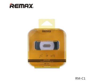 Держатель автомобильный Remax RM-C01 бело / серый