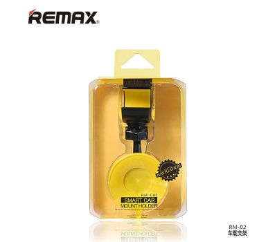 Держатель автомобильный Remax RM-C02 черно / желтый 371538