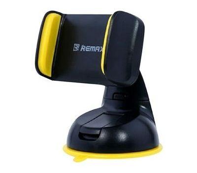 Автодержатель holder для смартфона Remax RM-C06 черно-желтый