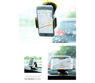 Автодержатель holder для смартфона Remax RM-C06 черно-желтый 371559