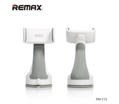 Автомобильный держатель REMAX Car Holder RM-C15 бело / серый