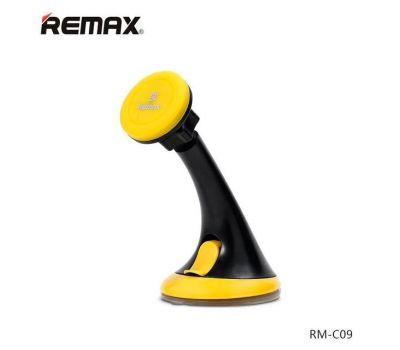 Автодержатель holder Remax Car RM-C09 черно-желтый