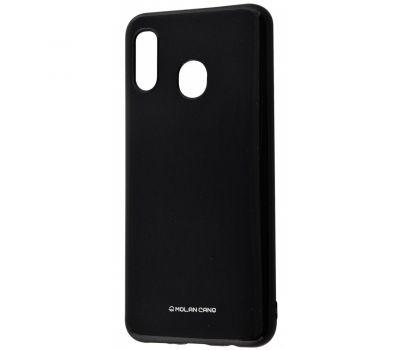 Чехол для Samsung Galaxy M20 (M205) Molan Cano глянец черный 377479