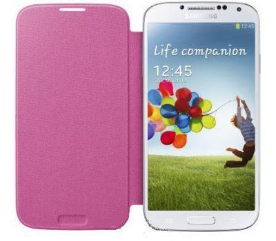 Футляр книжка Yoobao Samsung i9500 pink Galaxy S4(боковой)