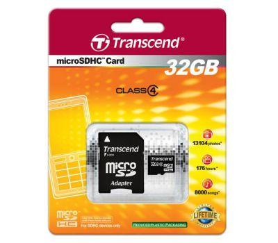 SD 32 Transcend 32Gb/cl 4/