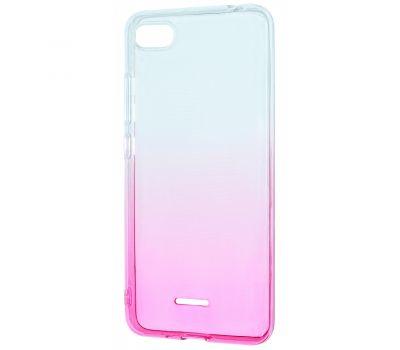 Чехол для Xiaomi Redmi Go Gradient Design розово-белый 414272
