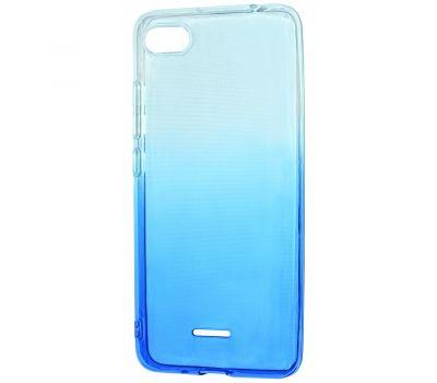 Чехол для Xiaomi Redmi Go Gradient Design бело-голубой 416169
