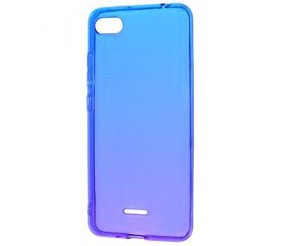 Чехол для Xiaomi Redmi Go Gradient Design фиолетово-синий 416170