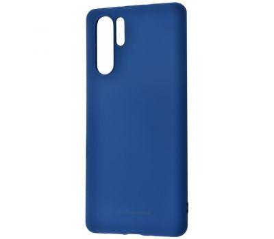 Чехол для Huawei P30 Pro Molan Cano Jelly синий 423761