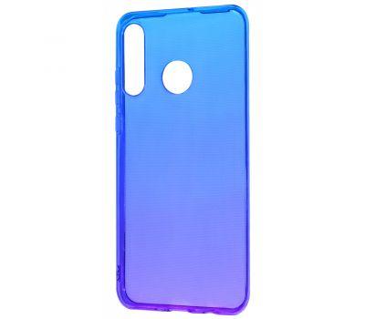 Чехол для Huawei P30 Lite Gradient Design фиолетово-синий 423758