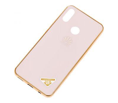 Чехол для Huawei P Smart Plus Brand золотистый 423737