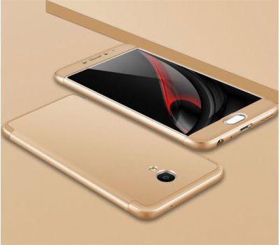 Чехол GKK LikGus для Meizu M5 Note 360 золотистый