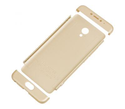 Чехол GKK LikGus для Meizu M5 Note 360 золотистый 428863