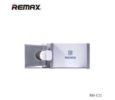 Автодержатель holder Remax Car Holder RM-C11 на руль бело - серый