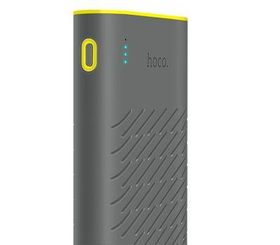 Фото №4 - Внешний аккумулятор power bank Hoco B31A Rege 30000 mAh gray 459122