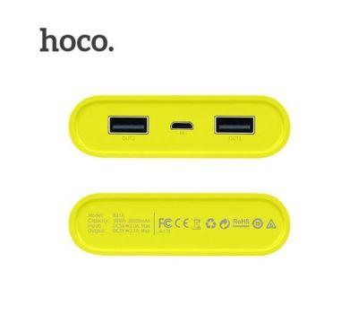 Фото №8 - Внешний аккумулятор power bank Hoco B31A Rege 30000 mAh gray 459126