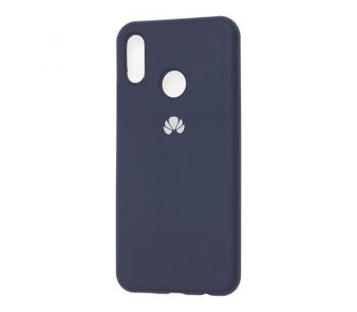 Чехол для Huawei P Smart Plus Silicone Full темно-синий 466570