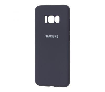 Чехол для Samsung Galaxy S8 (G950) Silicone Full темно-синий 481445