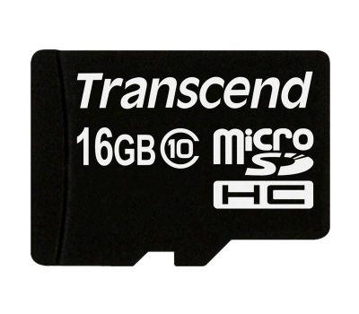 Карта памяти micro SDHC Kingston 16 Gb class 10 + adapter SD