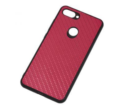 Чехол для Xiaomi Mi 8 Lite hard carbon бордовый 512792