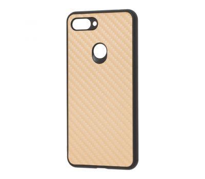 Чехол для Xiaomi Mi 8 Lite hard carbon золотистый