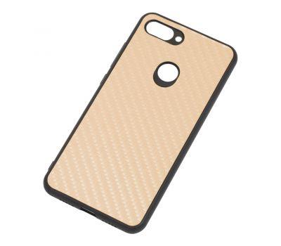 Чехол для Xiaomi Mi 8 Lite hard carbon золотистый 512795