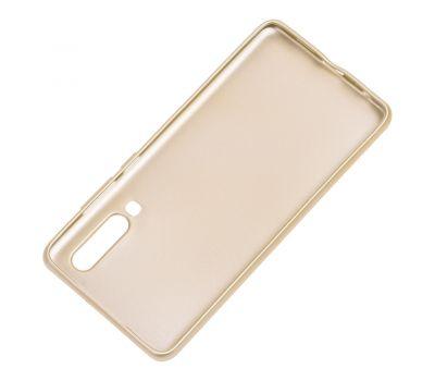 Чехол для Huawei P30 Rock матовый золотистый 532536