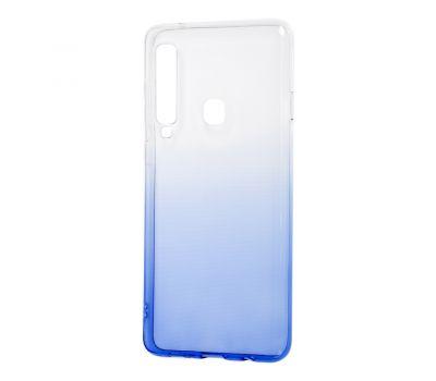 Чехол для Samsung Galaxy A9 2018 (A920) Gradient Design бело-голубой
