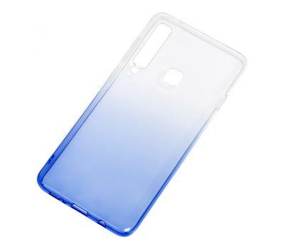 Чехол для Samsung Galaxy A9 2018 (A920) Gradient Design бело-голубой 546373
