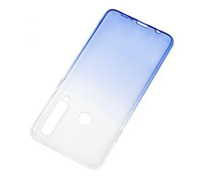Чехол для Samsung Galaxy A9 2018 (A920) Gradient Design бело-голубой 546374