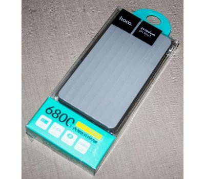 Внешний аккумулятор power bank Hoco UPB-01 6800 mAh gray 57979