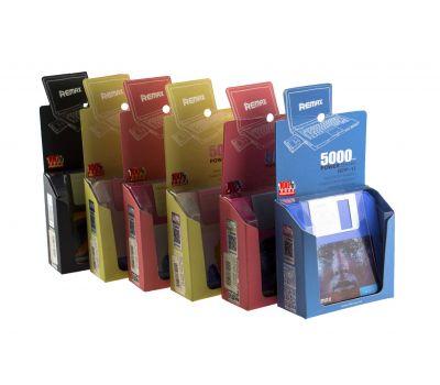 Внешний аккумулятор power bank Remax Disc RPP-17 5000mAh black 58905