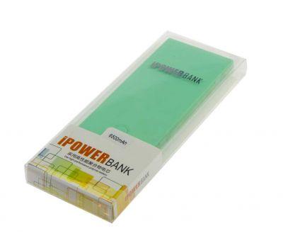 Внешний аккумулятор power bank Keva K3 6500 mAh green 58962