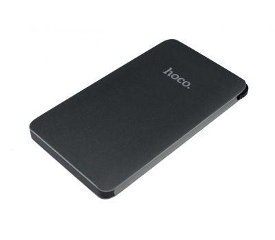 Внешний аккумулятор power bank Hoco B13 5000 mAh Card-Type Portable gray 58350
