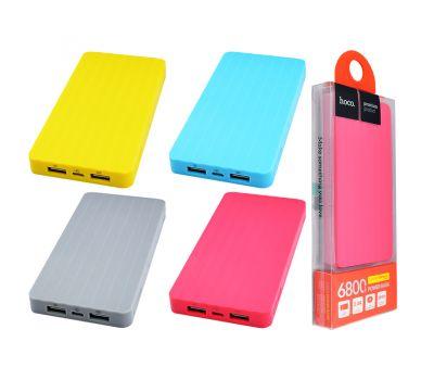 Внешний аккумулятор power bank Hoco UPB-01 6800 mAh gray 58869