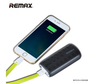 Внешний аккумулятор power bank Remax Proda Lovely Power Box 5000mAh black 58771